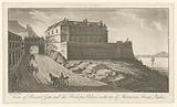 View of Prescot Gate, and the Bishops Palace, on the top of Mountain Street, Quebec