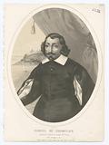 Samuel de Champlain, gouverneur général du Canada (nelle. France).