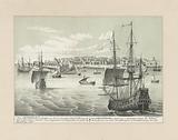 New Amsterdam, a small city on Manhattan Island
