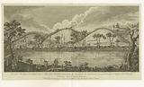 View of the west bank of the Hudson's River 3 miles above Still Water, upon which the army under the command of …