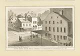 South east & south west corners of Greenwich & Franklin Sts, 1861