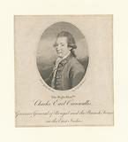 The Right Honble, Charles Earl Cornwallis, Governor General of Bengal and the British Forces in the East Indies