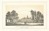 NW view of the mansion of George Washington, Mount Vernon
