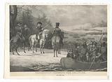 Washington Crossing the Delaware Decr, 24th 1776