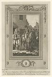 The American General Lee taken prisoner by Lieutenant Colonel Harcourt of the English Army, in Morris Country [sic], …
