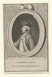 Le General Gates, chef de l'armée anglo-américaine