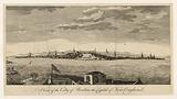 A view of the city of Boston, the capital of New England
