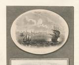 New York in 1775 (Fort George from Harbor), West Point, with its fortifications etc, In 1780