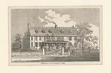 Residence of ex President Adams