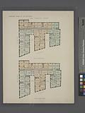 The Terrace Court, Plan of first floor, Plan of upper floor