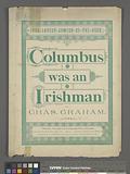 Columbus was an Irishman