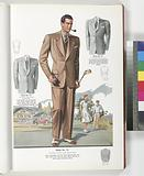 Model No 711, Two-button notch lapel sports style