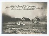 Aus der Schlacht bei Czernowitz, Brennendes Dorf, welches in der Kampflinie lag