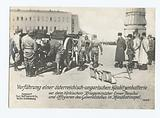 Vorführung einer österreichisch-ungarrischen Haubitzenbatterie vor dem türkischen Kriegsminister Enver Pascha und …