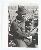 Negro sharecropper and son who will be resettled, Transylvania Project, Louisiana, January 1939