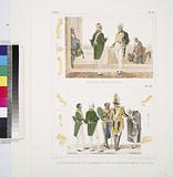 Costume des ministres, L'Empereur suivi d'un chambellan et d'un premier valet de chambre