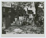 Negro slum area between D and C Streets off 1st Street, SW, Washington, DC
