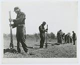 Civilian Conservation Corps boys putting up a fence, Greene County, Georgia, May 1941