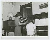 Children of family on relief playing, Chicago, Illinois