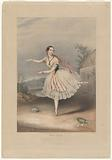 Flora Fabbri (fac. sig.) as Mazourka in the ballet of The devil to pay, MW Child delt, J Brandard.