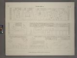 Île de Philae, Chambre d'Osiris, paroi sud, premier, deuxième et troisième rangée