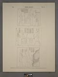 Thèbes, Kourna [Thebes, Qurna], 1, Ménephthéum, au dessus de la porte de l'une des salles