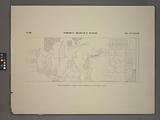 Thèbes, Médinet-Habou [Thebes, Medinet Habu], Palais de Rhamsès IV, tableau entre le premier et le deuxième pylône