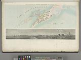 Planta topografica della città d'Alessandria, nella scala di 1:50000, Veduta del porto nuovo d'Alessandria