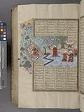 Rustam's Seven's Feat: he slays the White dîv