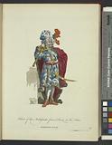 Habit of the ambassador from Persia to the Port, Ambassadeur de perse