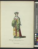Habit of a lady of China in 1700, Autre dame Chinoise