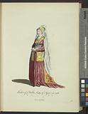 Habit of a noble lady of Syria in 1581, Dame Syrienne