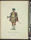 Habit of a merchant of Dantzic, Marchand de Dantzic