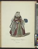 Habit of a lady of Bologna, Dame de Bolonge