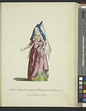 Another habit of a countess of Holland and Zealand in 1480, Comtesse de Hollande et de Zeland