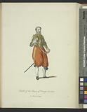 Habit of the Prince of Orange in 1572, Le Prince d'Orange