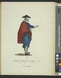 Habit of a physician in Holland in 1640, Médecin Hollandois