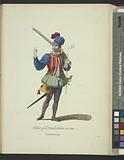 Habit of a Dutch soldier in 1588, Soldat Hollandois