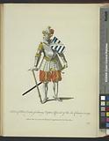 Habit of Albert Duke of Saxony captain general of the Low Countries in 1489, Albert Duc de Saxe govur