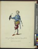 Habit of an English page in the reign of Edw[ard] VI, Page Anglois fous le regne d'Edouard VI