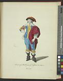 Habit of a nobleman of England in 1640, Noble Anglois