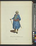 Habit of a Persian gentleman in 1700, Persien