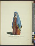Habit of a gentlewoman in Moscow in 1768, Femme de Moscou