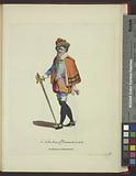 A noble man of Denmark in 1626, Gentilhomme de Dannemarck