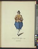 Habit of a Dutch skipper in 1770, Matelot Hollandois