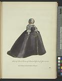 Habit of Maria Theresa of Austria Infanta of Spain in 1660, Marie Thérese d'Autriche Infante d'Espagne