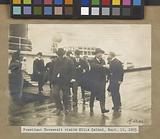President Roosevelt visits Ellis Island, Sept, 16, 1903