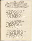 "Manuscript copy of Felicia Hemans poem, ""On the Ivy"""