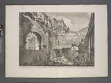 Veduta interna dell' Atrio del Portico di Ottavia
