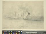 Capture of the US steamer Harriet Lane …